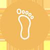 Foot Scrub Icon