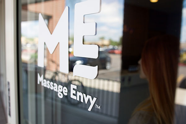 Massage Envy Window