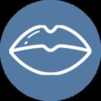 Lip Enhancement Icon